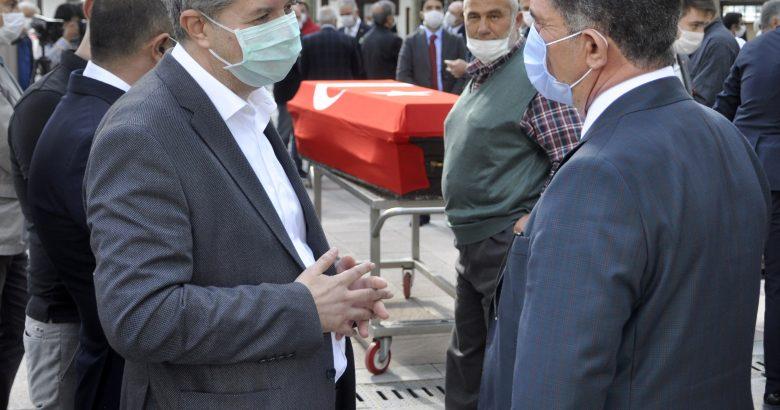Milletvekili Çelebi'den Ağrı'lı duayen siyasetçi Tekdal'a son görev