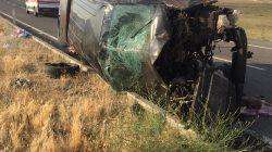 Patnos'ta trafik kazası 3 ölü, 6 yaralı