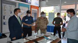 Patnos'ta koronavirüs denetimleri devam ediyor