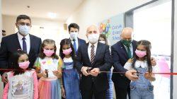 Vali Varol, Çocuk Evleri Sitesinde Yapımı Tamamlanan Kütüphanenin Açılış Törenine Katıldı