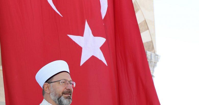 Diyanet İşleri Başkanı Ali Erbaş,Patnos'ta cami açılışı yaptı