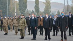 Patnos'ta 10 Kasım töreni