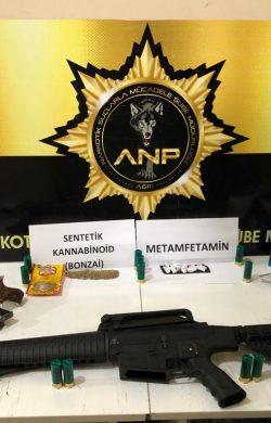 Ağrı'da uyuşturucu operasyonu 14 tutuklama
