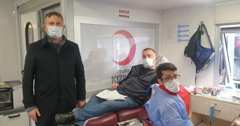 Patnos'ta kan bağışı kampanyası