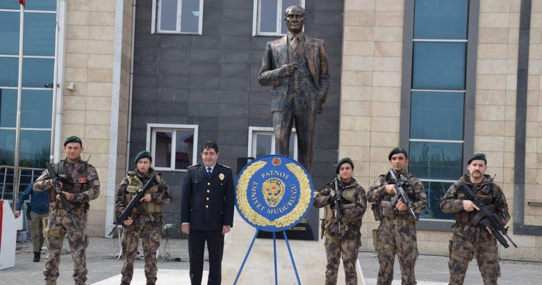 Türk Polis Teşkilatı'nın 176. yıldönümü Patnos'ta kutlandı