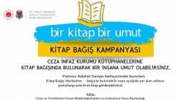 Patnos'ta Kitap bağışı kampanyası