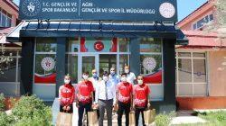 İl Müdürü Çalgan Başarılı Sporcuları Tebrik Etti